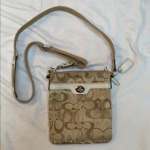 Coach small cross body purse